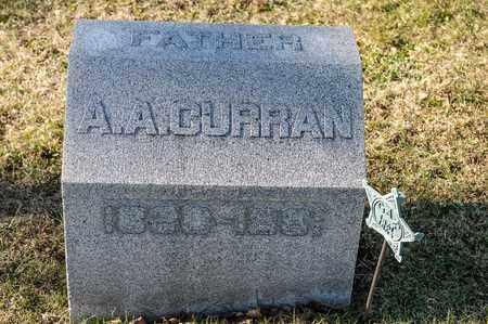 CURRAN, A A - Richland County, Ohio   A A CURRAN - Ohio Gravestone Photos