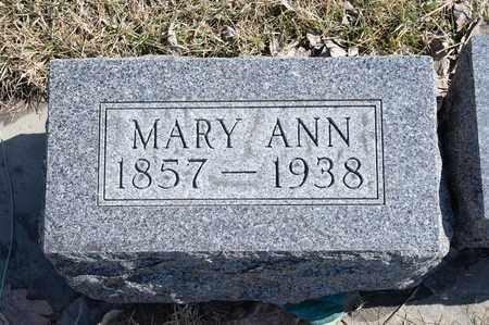 CURRAN, MARY ANN - Richland County, Ohio | MARY ANN CURRAN - Ohio Gravestone Photos