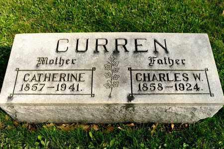 CURREN, CHARLES W - Richland County, Ohio | CHARLES W CURREN - Ohio Gravestone Photos