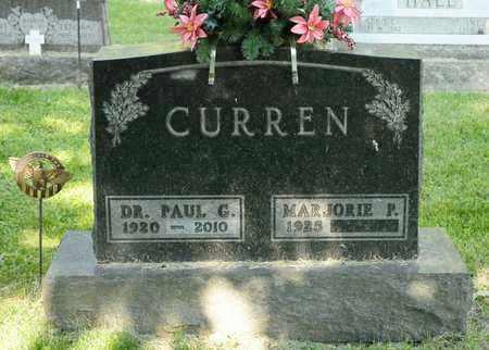 CURREN, PAUL G - Richland County, Ohio   PAUL G CURREN - Ohio Gravestone Photos