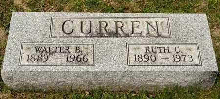 CURREN, RUTH C - Richland County, Ohio | RUTH C CURREN - Ohio Gravestone Photos