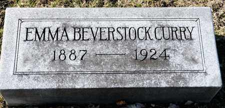 BEVERSTOCK CURRY, EMMA - Richland County, Ohio | EMMA BEVERSTOCK CURRY - Ohio Gravestone Photos