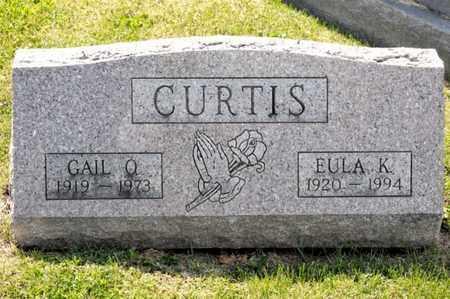 CURTIS, EULA K - Richland County, Ohio | EULA K CURTIS - Ohio Gravestone Photos