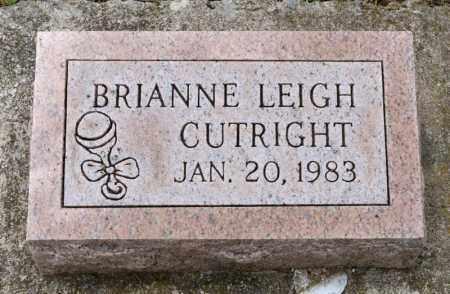 CUTRIGHT, BRIANNE LEIGH - Richland County, Ohio | BRIANNE LEIGH CUTRIGHT - Ohio Gravestone Photos