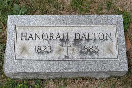 DALTON, HANORAH - Richland County, Ohio | HANORAH DALTON - Ohio Gravestone Photos