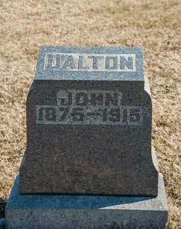 DALTON, JOHN - Richland County, Ohio   JOHN DALTON - Ohio Gravestone Photos