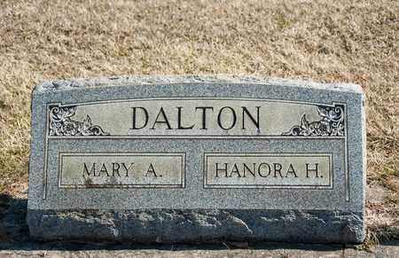 DALTON, MARY ANN - Richland County, Ohio | MARY ANN DALTON - Ohio Gravestone Photos