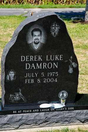 DAMRON, DEREK LUKE - Richland County, Ohio   DEREK LUKE DAMRON - Ohio Gravestone Photos