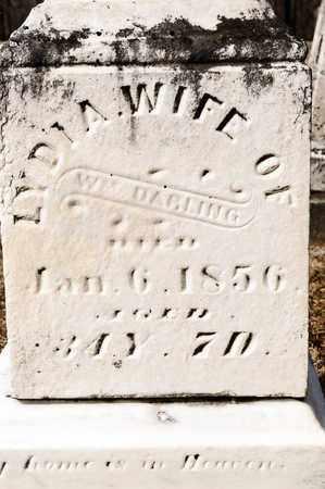 DARLING, LYDIA - Richland County, Ohio   LYDIA DARLING - Ohio Gravestone Photos