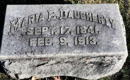 DAUGHERTY, MARIA E - Richland County, Ohio   MARIA E DAUGHERTY - Ohio Gravestone Photos