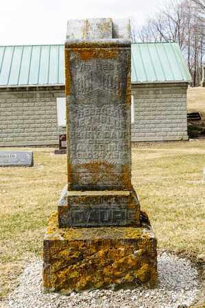 DAUP, REBECCA - Richland County, Ohio   REBECCA DAUP - Ohio Gravestone Photos