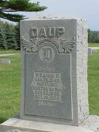 DAUP, WILLIAM P. - Richland County, Ohio   WILLIAM P. DAUP - Ohio Gravestone Photos