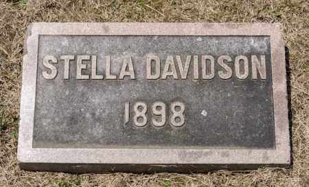 DAVIDSON, STELLA - Richland County, Ohio | STELLA DAVIDSON - Ohio Gravestone Photos