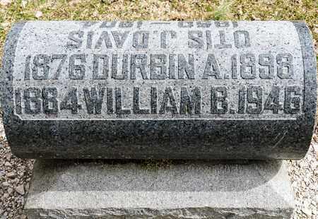 DAVIS, DURBIN A - Richland County, Ohio   DURBIN A DAVIS - Ohio Gravestone Photos