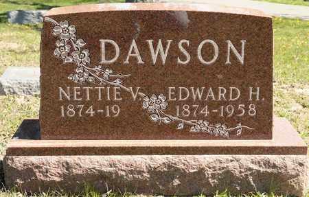 DAWSON, NETTIE V - Richland County, Ohio   NETTIE V DAWSON - Ohio Gravestone Photos