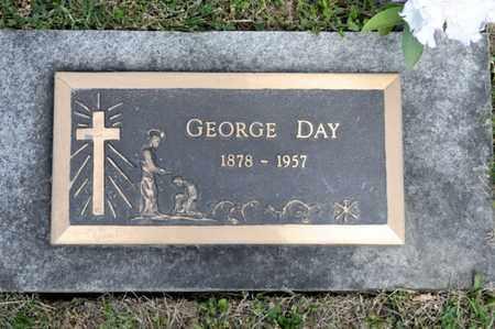 DAY, GEORGE - Richland County, Ohio   GEORGE DAY - Ohio Gravestone Photos