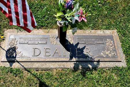 DEANER, EVELYNE C - Richland County, Ohio | EVELYNE C DEANER - Ohio Gravestone Photos