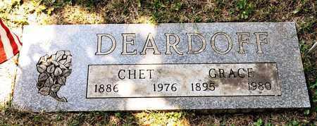 DEARDOFF, CHET - Richland County, Ohio | CHET DEARDOFF - Ohio Gravestone Photos