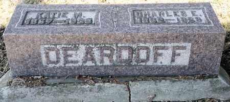 DEARDOFF, KATIE M - Richland County, Ohio | KATIE M DEARDOFF - Ohio Gravestone Photos