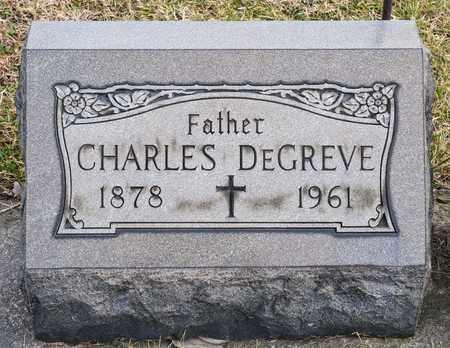 DEGREVE, CHARLES - Richland County, Ohio | CHARLES DEGREVE - Ohio Gravestone Photos