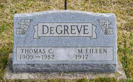DEGREVE, MARY EILEEN - Richland County, Ohio | MARY EILEEN DEGREVE - Ohio Gravestone Photos