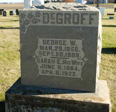DEGROFF, GEORGE W - Richland County, Ohio | GEORGE W DEGROFF - Ohio Gravestone Photos