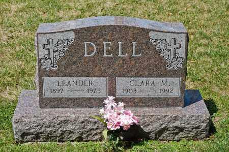 DELL, CLARA M - Richland County, Ohio | CLARA M DELL - Ohio Gravestone Photos