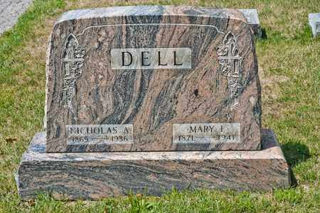 DELL, NICHOLAS A - Richland County, Ohio | NICHOLAS A DELL - Ohio Gravestone Photos
