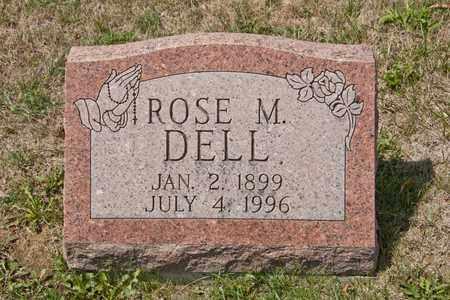 DELL, ROSE M - Richland County, Ohio   ROSE M DELL - Ohio Gravestone Photos