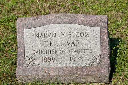 BLOOM DELLEVAP, MARVEL Y - Richland County, Ohio | MARVEL Y BLOOM DELLEVAP - Ohio Gravestone Photos