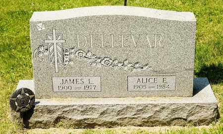 DELLEVAR, ALICE E - Richland County, Ohio | ALICE E DELLEVAR - Ohio Gravestone Photos