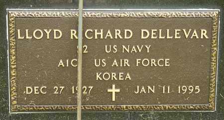 DELLEVAR, LLOYD RICHARD - Richland County, Ohio | LLOYD RICHARD DELLEVAR - Ohio Gravestone Photos