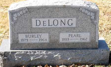 DELONG, BURLEY - Richland County, Ohio | BURLEY DELONG - Ohio Gravestone Photos