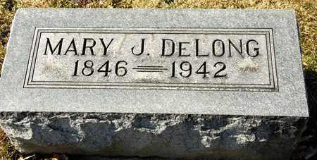 DELONG, MARY J - Richland County, Ohio | MARY J DELONG - Ohio Gravestone Photos