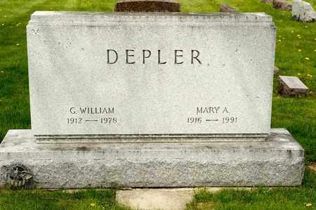 DEPLER, G WILLIAM - Richland County, Ohio | G WILLIAM DEPLER - Ohio Gravestone Photos