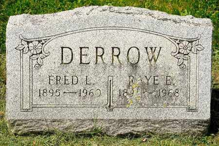 DERROW, FRED L - Richland County, Ohio | FRED L DERROW - Ohio Gravestone Photos