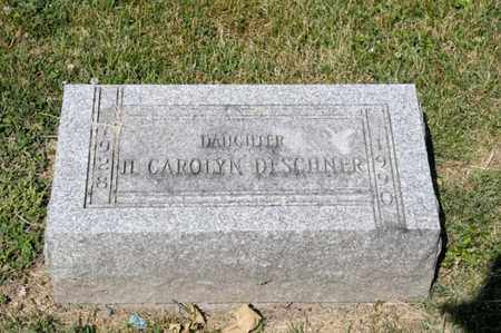 ZEBOLD DESCHNER, IL CAROLYN - Richland County, Ohio | IL CAROLYN ZEBOLD DESCHNER - Ohio Gravestone Photos