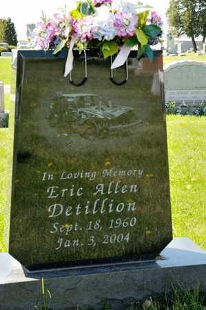 DETILLION, ERIC ALLEN - Richland County, Ohio   ERIC ALLEN DETILLION - Ohio Gravestone Photos