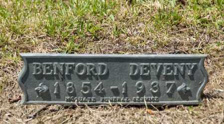 DEVENY, BENFORD - Richland County, Ohio   BENFORD DEVENY - Ohio Gravestone Photos