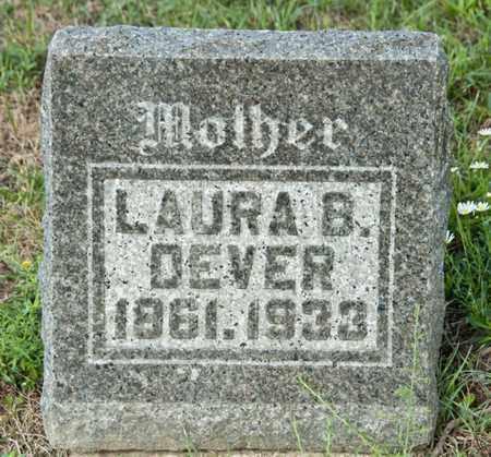 DEVER, LAURA B - Richland County, Ohio   LAURA B DEVER - Ohio Gravestone Photos