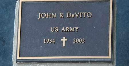 DEVITO, JOHN R - Richland County, Ohio   JOHN R DEVITO - Ohio Gravestone Photos