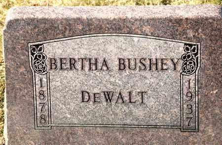 DEWALT, BERTHA - Richland County, Ohio | BERTHA DEWALT - Ohio Gravestone Photos