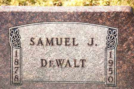 DEWALT, SAMUEL J - Richland County, Ohio | SAMUEL J DEWALT - Ohio Gravestone Photos