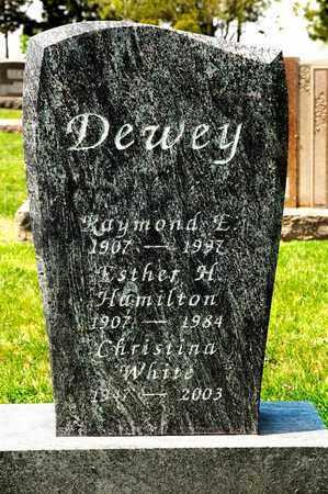 DEWEY, ESTHER H - Richland County, Ohio | ESTHER H DEWEY - Ohio Gravestone Photos