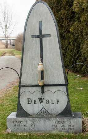 DEWOLF, SUSAN S - Richland County, Ohio | SUSAN S DEWOLF - Ohio Gravestone Photos
