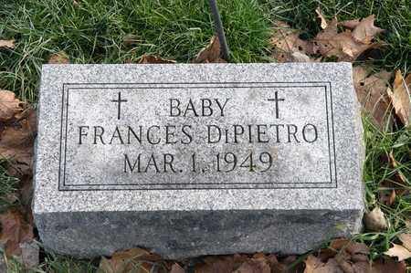 DI PIETRO, FRANCES - Richland County, Ohio | FRANCES DI PIETRO - Ohio Gravestone Photos