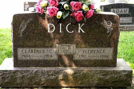 DICK, FLORENCE - Richland County, Ohio | FLORENCE DICK - Ohio Gravestone Photos