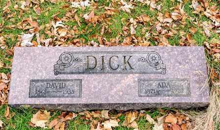 DICK, DAVID - Richland County, Ohio | DAVID DICK - Ohio Gravestone Photos