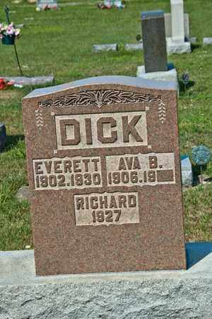 DICK, RICHARD - Richland County, Ohio | RICHARD DICK - Ohio Gravestone Photos