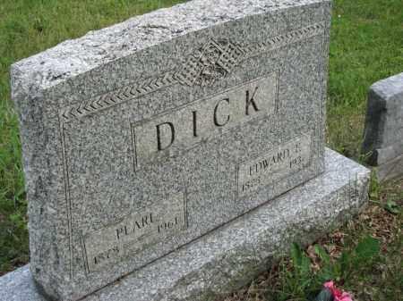 DICK, EDWARD E. - Richland County, Ohio   EDWARD E. DICK - Ohio Gravestone Photos